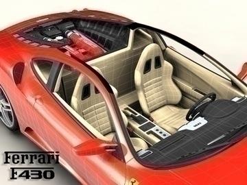 ferrari f430 3d model 3ds max obj 81564