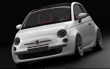 Fiat 500 3d मॉडल अधिकतम 105438