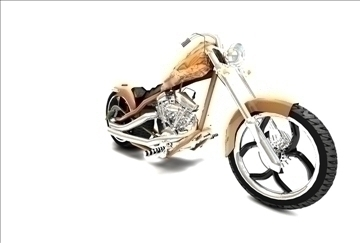 high quality chopper 3d model 3ds c4d texture 109113