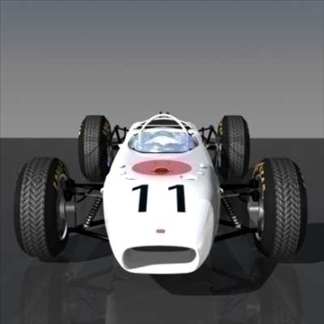honda ra272 grand prixf1 vintage race car 3d model lwo 82341