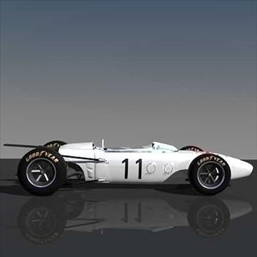 honda ra272 grand prixf1 vintage sacīkšu automašīna 3d modelis lwo 82344