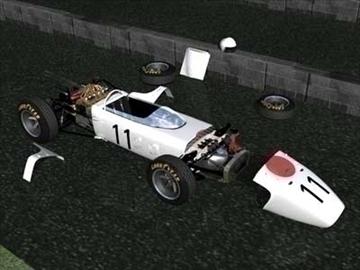 honda ra272 grand prixf1 vintage sacīkšu automašīna 3d modelis lwo 82346