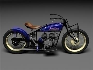indian flat track racer 1930 3d model 3ds max c4d obj 106399