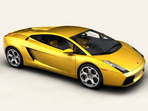lamborghini gallardo 3d model 3ds max obj 116937