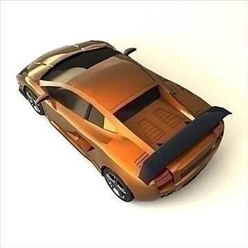 lamborghini gallardo customized 3d model max 100897