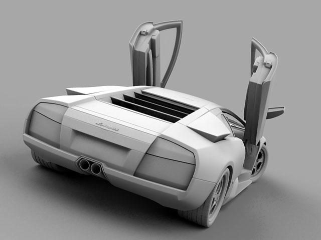 lamborghini murcielago 3d modell 3ds max obj 124716