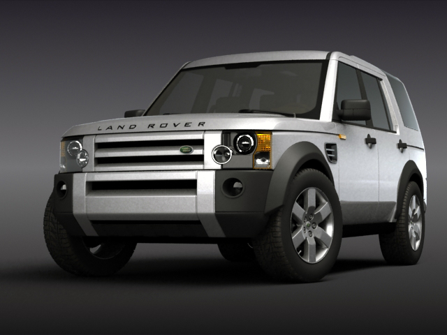 land rover discovery 3 3d model 3ds max obj 124914