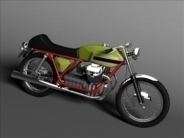 spórt moto guzzi v7 1970 3d model 3ds max c4d obj 111831