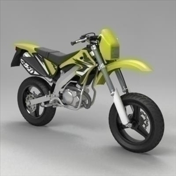 motocross bike 3d model 3ds max fbx obj 104305