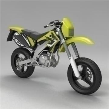 мотокрос мотор 3d модел 3ds max fbx obj 104305