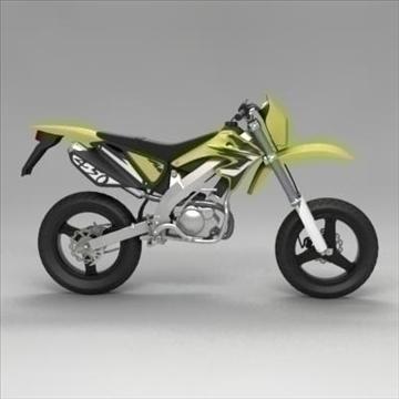 motocross bike 3d model 3ds max fbx obj 104306