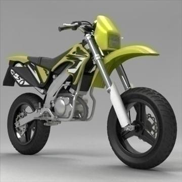 motocross bike 3d model 3ds max fbx obj 104310