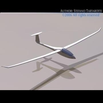 nimbus glider 3d model 3ds dxf obj other 78049