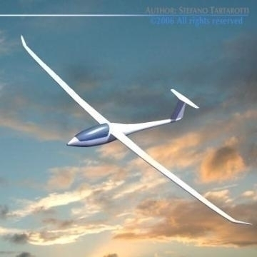nimbus glider 3d model 3ds dxf obj other 78050