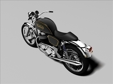norton 850 commando 3d model 3ds max c4d obj 105333