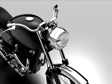 norton 850 commando 3d model 3ds max c4d obj 105334