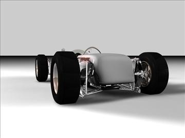 old indy concept car 3d model 3ds c4d texture 109118