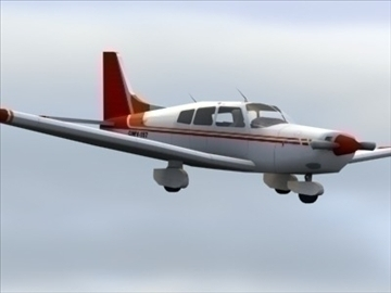 piper cherokee_max.zip 3d model 3ds max lwo ma mb obj 110940
