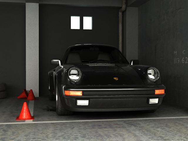 porsche 911 3d model 3ds max obj 125005