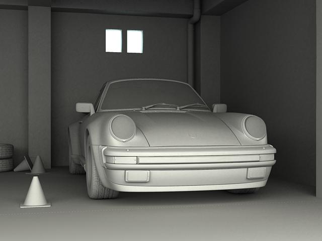 porsche 911 3d model 3ds max obj 125006