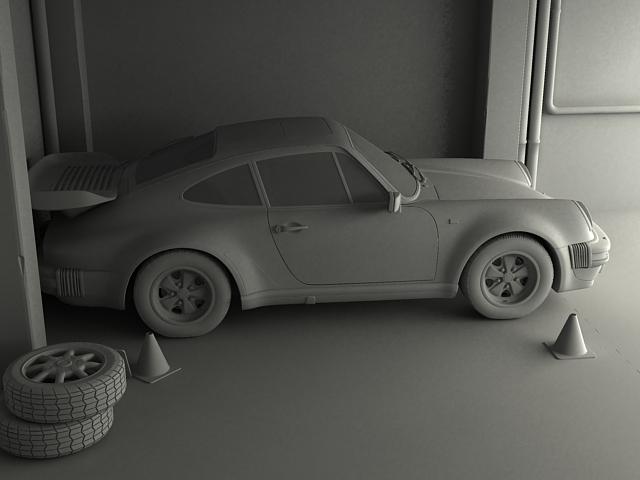 porsche 911 3d model 3ds max obj 125007