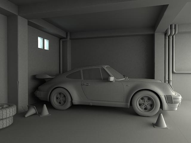 porsche 911 3d model 3ds max obj 125008