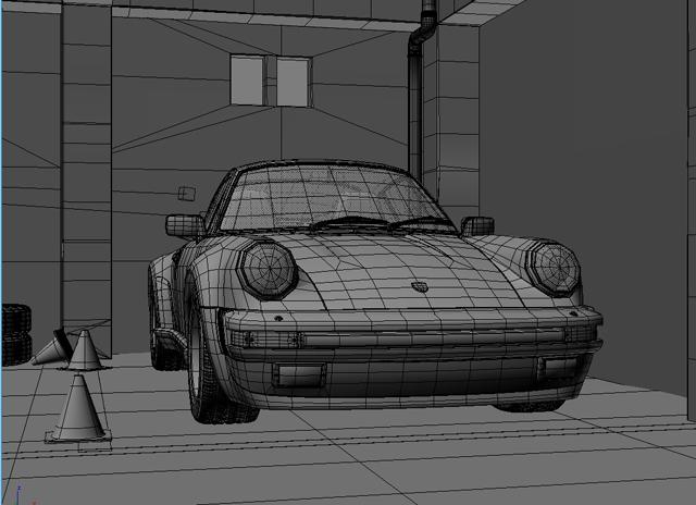 porsche 911 3d model 3ds max obj 125009