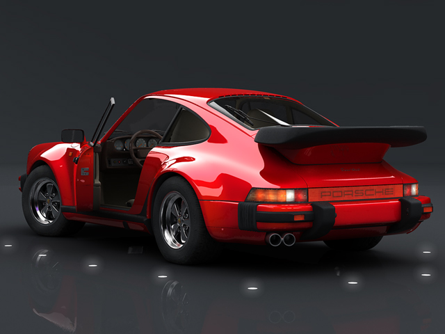 porsche 930 turbo 3d model 3ds max obj 124814