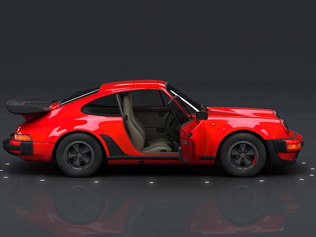 porsche 930 turbo 3d model 3ds max obj 124815