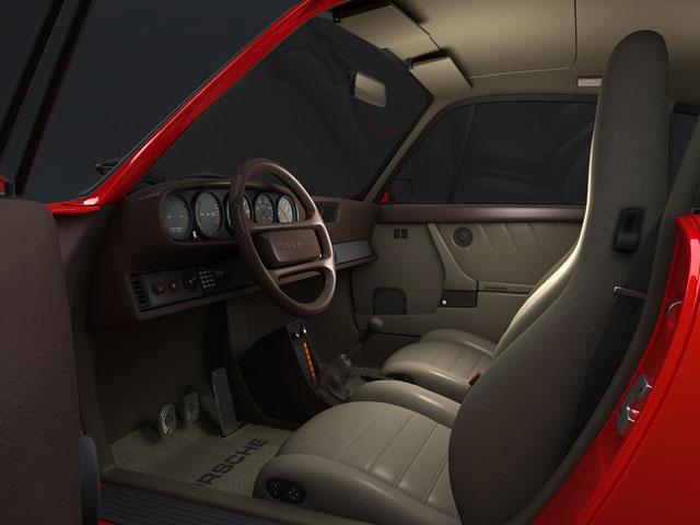 porsche 930 turbo 3d model 3ds max obj 124817
