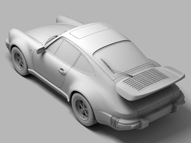 porsche 930 turbo 3d model 3ds max obj 124821