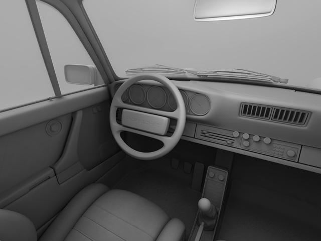 porsche 930 turbo 3d model 3ds max obj 124822