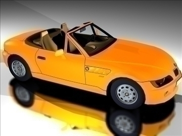 sport car vehicle 3d model 3ds 84442