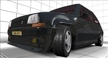 super 5 gt turbo 3d model max jpeg jpg 111542