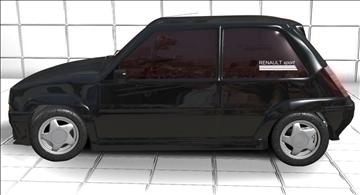 super 5 gt turbo 3d model max jpeg jpg 111543