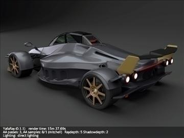 tramontana r supercar 3d model 3ds fbx blend lwo obj 107390