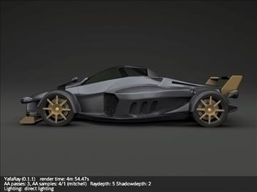 tramontana r supercar 3d model 3ds fbx blend lwo obj 107392
