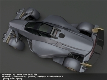 tramontana r supercar 3d model 3ds fbx blend lwo obj 107393