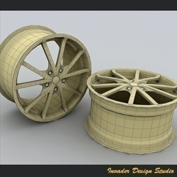 tsw rocket 5 auto rims 3d model 3ds max other 107076