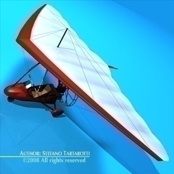 ultralight model 3d 3ds dxf c4d obj 87780