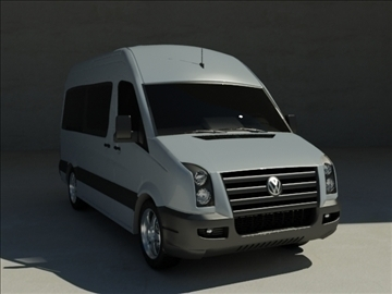 model 3d volkswagen crafter max 100595