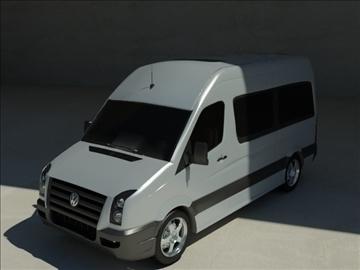 volkswagen crafter 3d model max 100596