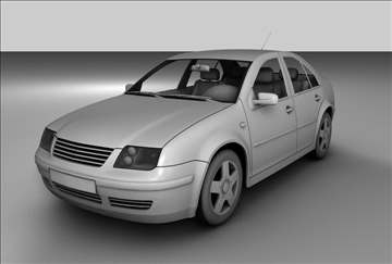 model volkswagen jetta model 3d 3ds c4d gwead 85087