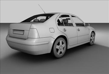 volkswagen jetta 3d model 3ds c4d texture 85088