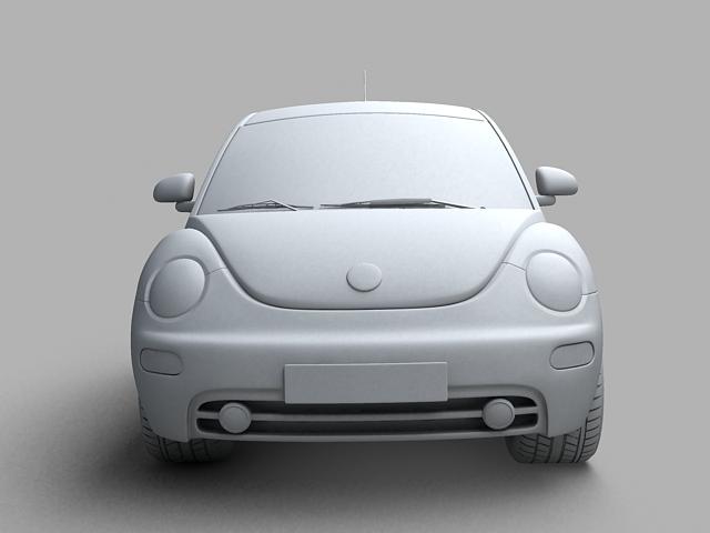 volkswagen new beetle 3d model 3ds max obj 124774