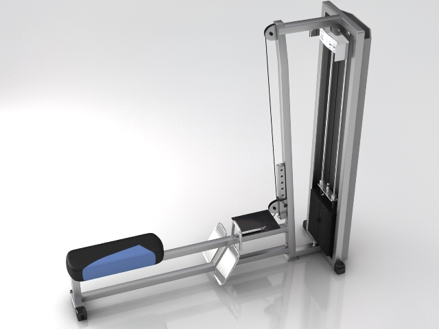 fitness gym equipment 1 3d model 3ds max obj 121107