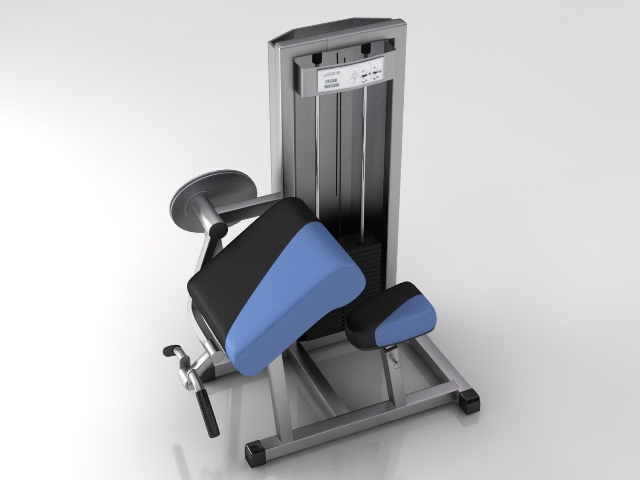 fitness gym equipment 4 3d model 3ds max obj 121117