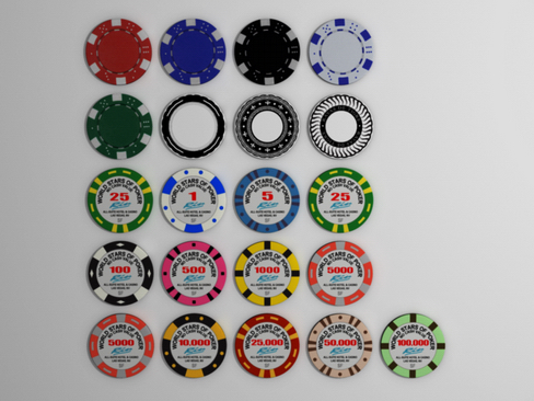 gambling chips 3d model 3ds max c4d lwo ma mb obj 115877