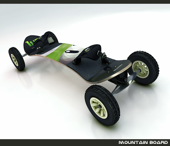 dağ board 3d model 3ds max fbx obj 116040