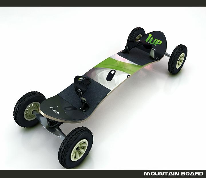 dağ board 3d model 3ds max fbx obj 116043